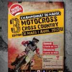 Traveaux de communication de l'evenement Motocross cross country