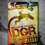 Travaux de conception pour l'evenement DGR