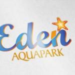 Création logo de Eden aqua park Marrakech
