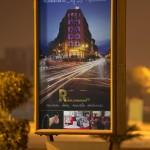 Conception et fabrication panneau publicitaire Hotel la renaissance Marrakech