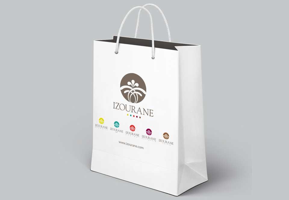 izourane shopping bag personnalise maroc