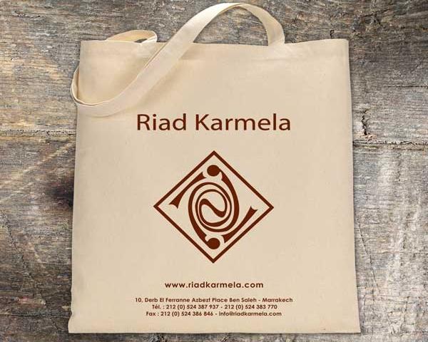Karmela – Conception Sac en Tissu Marrakech Maroc
