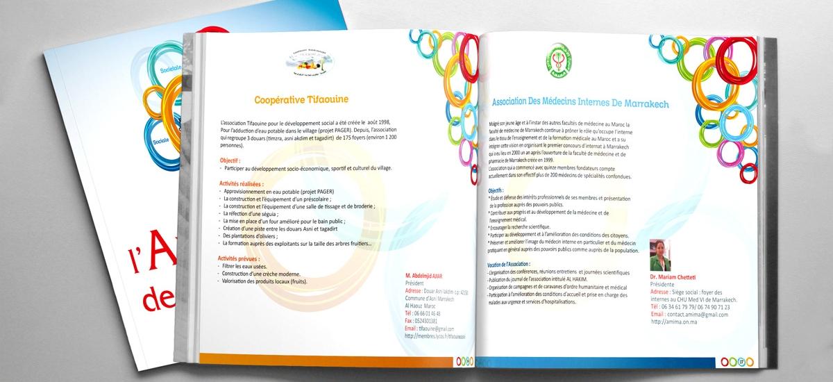 Creation brochune à Marrakech