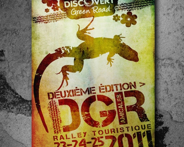 Travaux de conception pour l'evenement DGR
