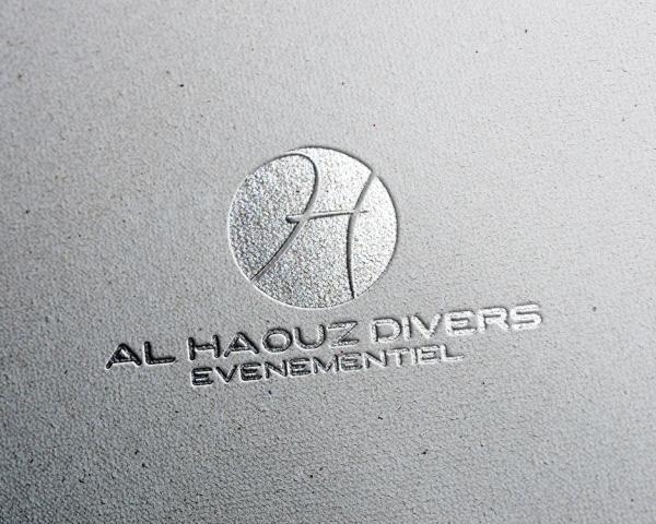 Création logo Al Haouz Divers evenementiel Marrakech