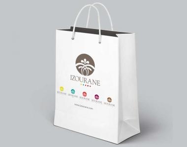 Izourane – Shopping bag personnalisé Maroc