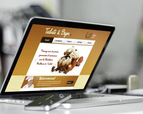 Création site web Taibate & Bigor Marrakech